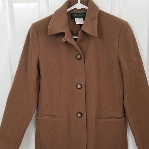 Harvé Benard wool coat